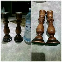 Wooden Candle holders  Ajax, L1T 3W6