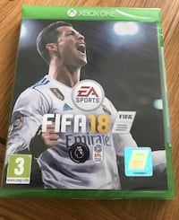 Fifa 18 for xbox one good contion  547 km