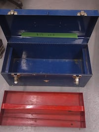blue and red tool chest Toronto, M9L 1N4