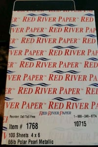Photo Paper- Red River -- was $19.95 Germantown, 20874