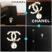 Chanel pearl brooch with pearl drop pin Aventura, 33180