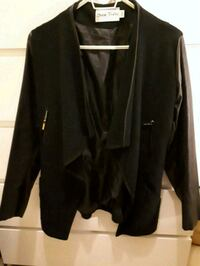 Semi-leather coat jacket, OS Greater London, W2 6JE