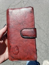 red leather bi-fold wallet Grand Junction, 81504