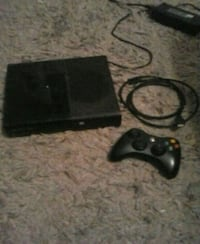 black Xbox 360 console with controller Athens, 35613