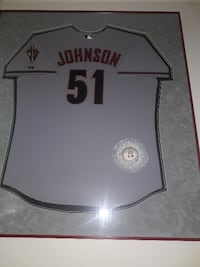 Professionally Triple Matted Framed Sports Jerseys 4 Free Items Queen Creek