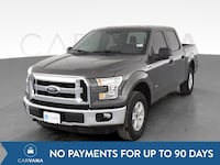 2016 Ford F150 SuperCrew Cab pickup XLT Pickup 4D 5 1/2 ft Gray Petersburg
