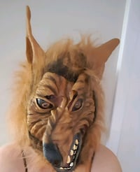 Werewolf costume- mask and gloves  Cambridge