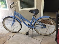 blue and white cruiser bike Tustin, 92782