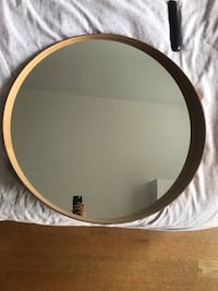 Round Mirror from ikea  Toronto, M6A 2A1