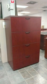 OFFICE/HOME WOODEN FILE CABINET LATERAL FILE. Houston, 77043
