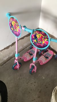 toddler's pink and blue kick scooter Richmond Hill, L4C 0R4