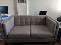 Living Spaces Loveseat Couch/sofa Venice, 90291