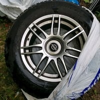 SUV Rims with Tires  [PHONE NUMBER HIDDEN] Toronto, M1B 5V8
