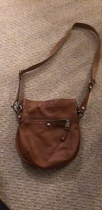 brown leather 2-way handbag Woodbridge, 22192