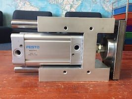 FESTO Pneumatic guided punch cylinder
