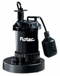 Flotec FP0S3200A 1/2 HP Thermoplastic Float Submersible Sump Pump  Chino, 91710