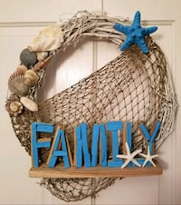 """Family"" Beachy Wreath  Gore, 22637"