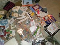Huge assortment of sewing & stitching  material