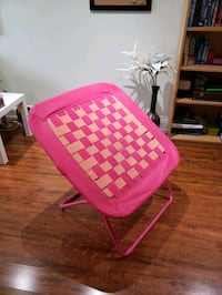 Chaise/reading chair, kid's room. Folds for easy storage. Mississauga, L4Y 2E7