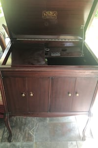 Cabinet with drawers, antique record player Rockville, 20852