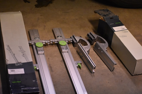 Festool Parallel Guides and Parallel Guide Extensions For Guide Rail System