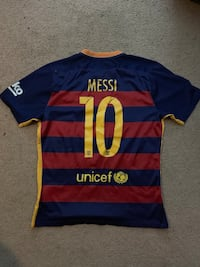 Lionel Messi Barcelona Jersey Men's Norwich, 06360