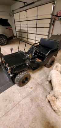 125cc gas powered Jeep Willy