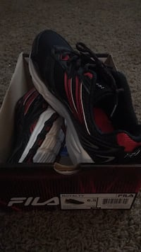 New! Fila black/red boys shoes size: 6.5 Winchester, 92596