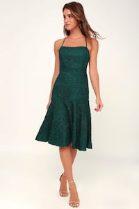 Brand new / new with tags green dress Tampa, 33618