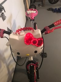 Toddler's white and red Hello Kitty bicycle White Plains, 20695