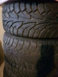 Winter tires/225/50/17.& rims /CRV .. Surrey, V3V 5R5