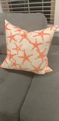 Starfish Beach Throw Pillow Tampa, 33609