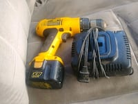 yellow and black Dewalt cordless power drill Baton Rouge, 70816