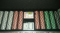 Poker Set w/ Lock Aluminum Case Richmond