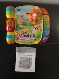 Like New VTech Musical Book $5 Vaughan, L6A