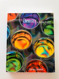 Introduction to Chemistry for biology students book Vancouver, V6G 1Y5