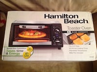 New Never Used Hamilton Beach Toaster Oven Côte-Saint-Luc, H4W 2Y1