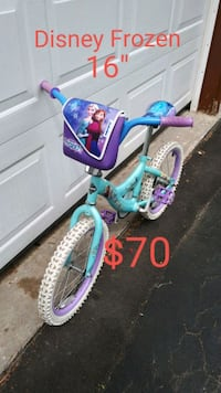 toddler's blue and purple bicycle Toronto, M1X