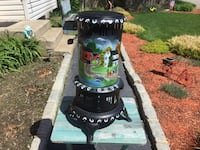 Hand Painted Vintage Heater Manorville, 11949