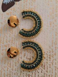 Colombian imported, hand made earrings. Brand new!