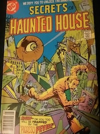 DC Secrets pf Haunted House comic book District Heights, 20747
