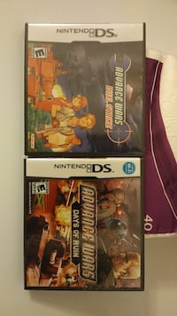 Two Nintendo DS Dual Strike and Days of Ruin New York, 10473