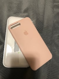 I phone 8 plus Apple case - pink  Vaughan