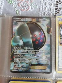 Registeel EX carta Pokémon Roma, 00133