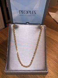 "22"" Gold Chain"