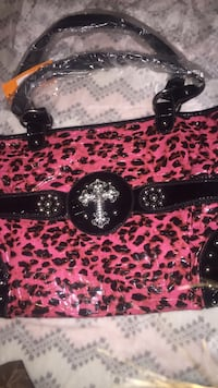 Leopard print yesir purse South Bend, 46615