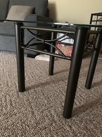 Glass end table for sale Surrey, V3S 0M8