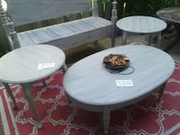 Coffee and end tables from $40 chic vintage Kitchener, N2N 1L7