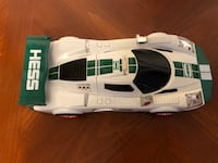"""2009 Hess Lg and Sm Race Cars, 12"""" - engine beeps/makes noise & Lights Up. Battery covers missing. Batteries not included   Baltimore, 21236"""