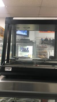 Oven for hot food    Deli oven for chiken wins and french fries electric machine